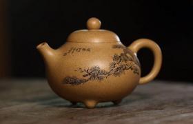 制作方器紫砂壶的艺人
