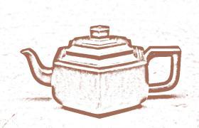 方器紫砂壶-雪华紫砂壶壶型由来