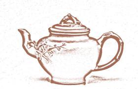 花塑器紫砂壶-松竹梅紫砂壶壶型由来