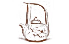 花塑器紫砂壶-南瓜提梁紫砂壶壶型由来