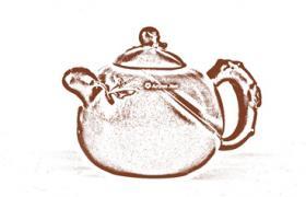花塑器紫砂壶-圣桃紫砂壶壶型由来