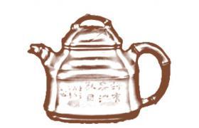 筋纹器紫砂壶-塔竹紫砂壶壶型由来