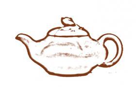 筋纹器紫砂壶-上合桃紫砂壶壶型由来