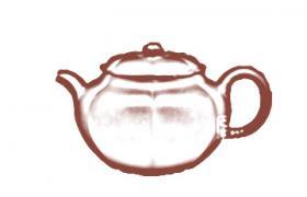 筋纹器紫砂壶-海棠紫砂壶壶型由来