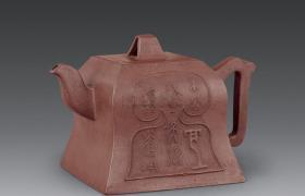 老紫砂壶收藏 - 民国宜兴紫砂壶