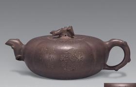 老紫砂壶收藏价格 - 清宜兴紫砂壶