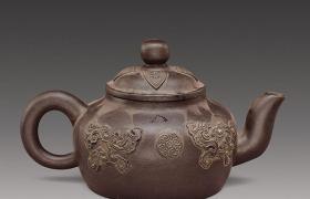 老紫砂壶收藏价格——  杨彭金紫砂壶