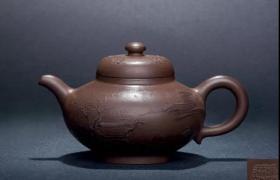 老紫砂壶收藏价格--乾隆御制泥绘山水乳鼎壶多少钱