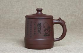 紫砂杯恒则成原矿朱泥紫砂杯紫砂杯适合泡什么茶?