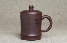 紫砂杯茶字原矿朱泥紫砂杯紫砂杯适合泡什么茶?