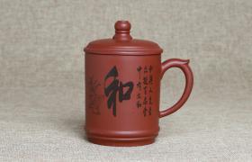 紫砂杯和字原矿朱泥紫砂杯紫砂杯适合泡什么茶喝?