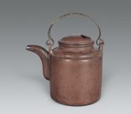 老紫砂壶收藏价格--民国朱可心制洋桶紫砂壶多少钱